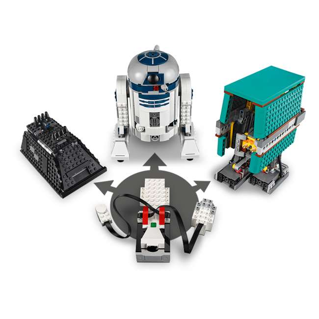 6251933 LEGO BOOST 75253 Droid Commander Block Building Kit w/ 3 Star Wars Robot Toys 4