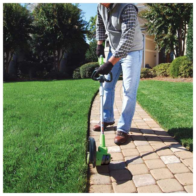 GW-1301502 Greenworks 24 Volt Battery Powered Cordless String Trimmer and Leaf Blower Combo 2
