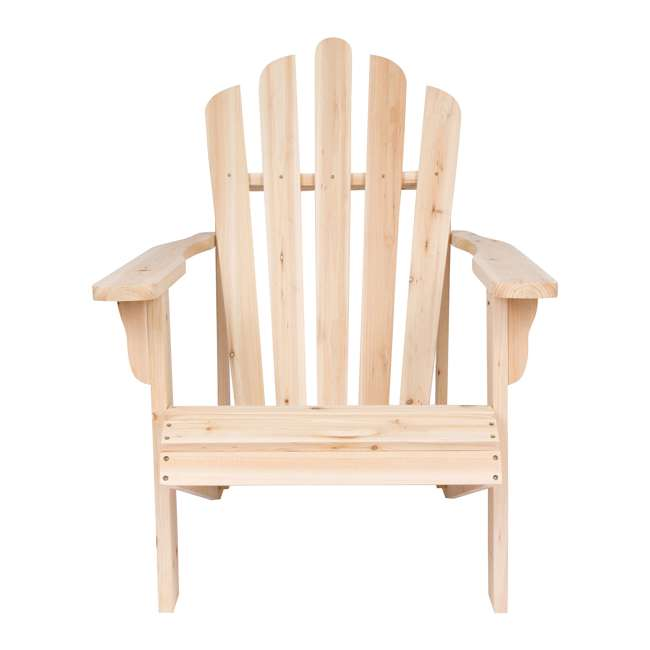 SHN-4611N Shine Company Westport Adirondack Chair, Rust Brown 1