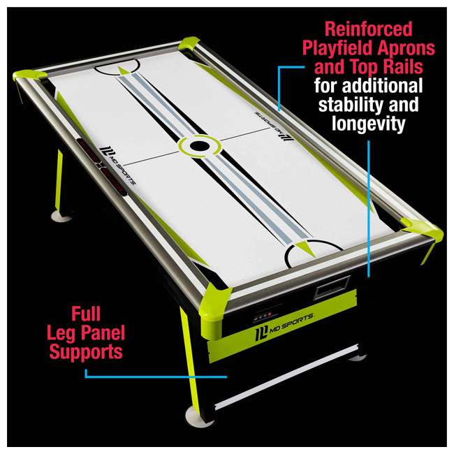AWH080_037M MD Sports Air Powered 80 x 42-Inch 2 Player Air Hockey Table w Electronic Scorer 4