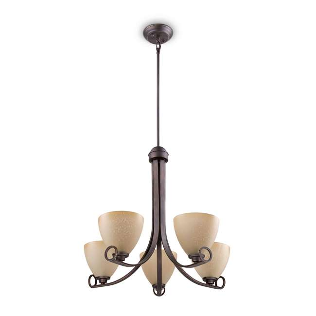 4 x PLC-TK0024715 Philips Maurice Suspension Chandelier, Oiled Bronze (4 Pack) 1