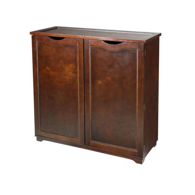 BOX0021721800 Merry Products 6-Tier Wooden Shoe and Storage Dresser 5
