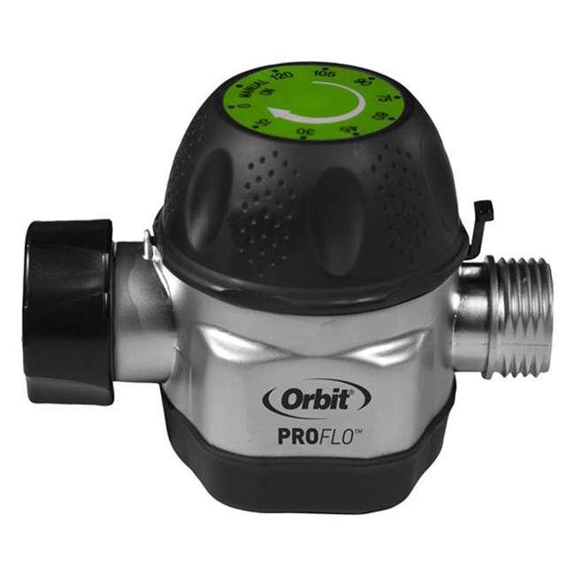 3 x ORBIT-62041 Orbit High Flow Metal Mechanical Garden Faucet Watering Hose Timer (3 Pack) 1
