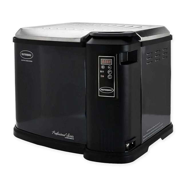 MB23011818 Masterbuilt Butterball XXL Digital Electric Indoor 22 Pound Turkey Fryer, Black