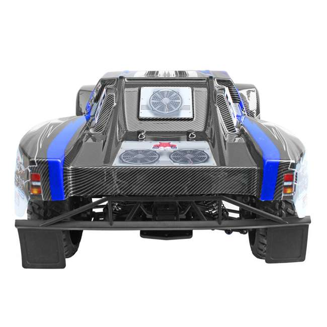 BLACKOUT-SC-BLUE Redcat Blackout SC Brushed Electric RC Short Course Truck 1