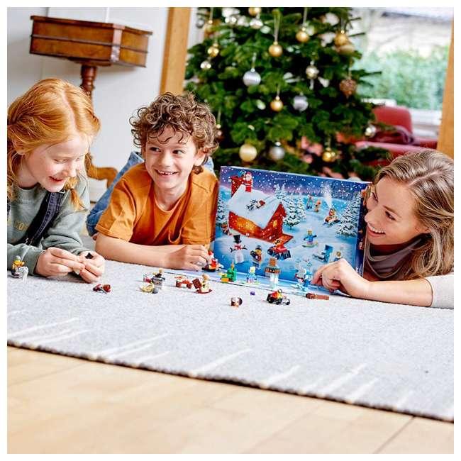6251831 LEGO 60235 2019 Advent Calendar Block Building Kit w/ 7 Minifigures, 234 Piece 4