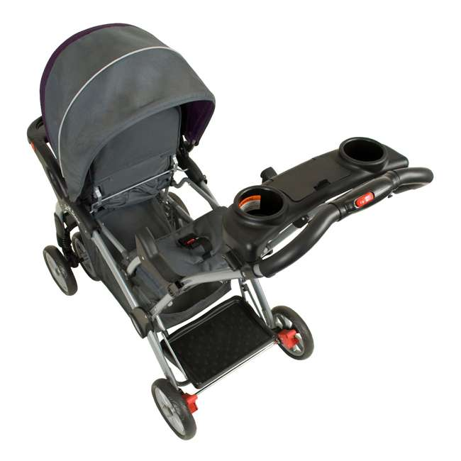 SS76715 Baby Trend Sit N Stand Double Stroller, Elixer 4