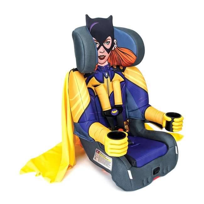 KE-3001BTG Kids Embrace Combination 2 in 1 Booster Forward Facing Car Seat, DC BatGirl 2
