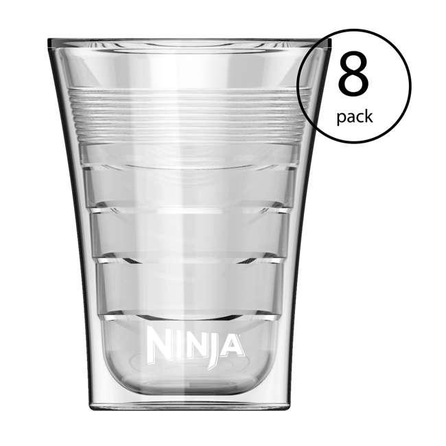 8 x CF14HOMEW Ninja 14 Ounce Plastic Insulated Cup for Ninja Coffee Bar Specialty Drinks (8 Pack)