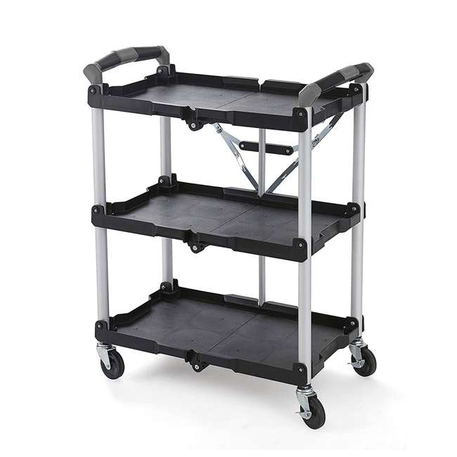 85-188 Olympia Tools 85-188 Pack n Roll Collapsible Storage Service Cart with Wheels