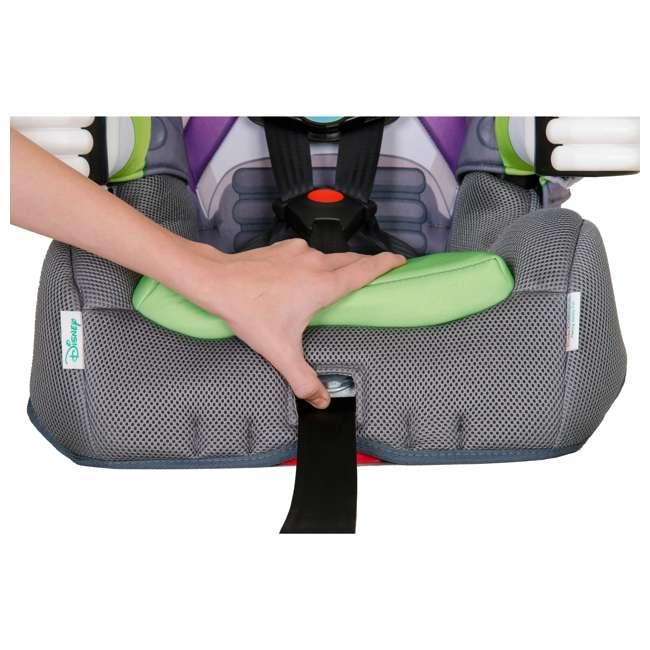 KE-3001BUZ KidsEmbrace Disney Buzz Lightyear Combination Harness Booster Car Seat (2 Pack) 8
