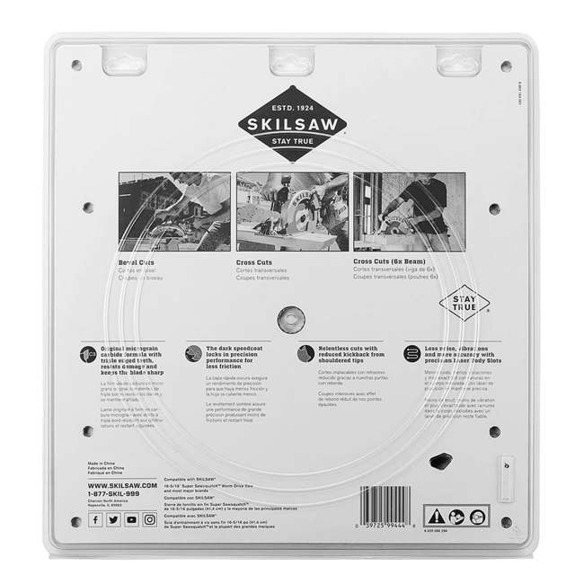SPT1000 Skilsaw Heavy Duty 16-5/16 inches X 32 Tooth Circular Saw Replacement Blade 3