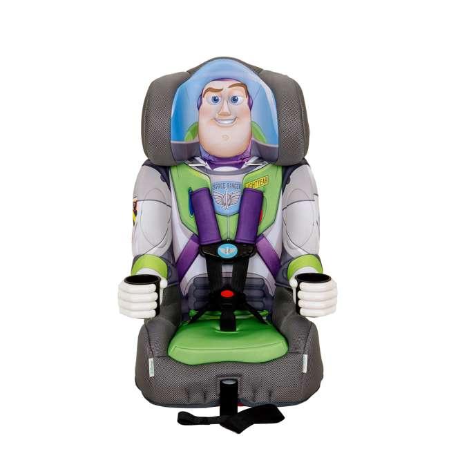KE-3001BUZ KidsEmbrace Disney Buzz Lightyear Combination Harness Booster Car Seat (2 Pack) 1
