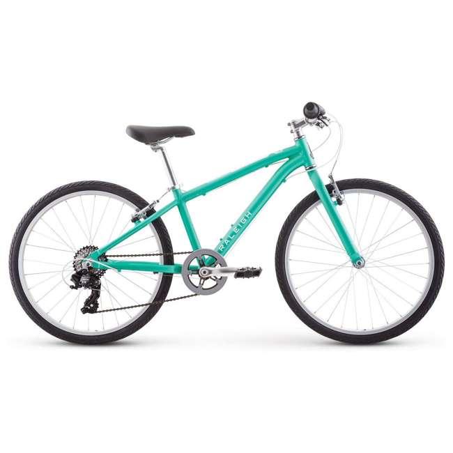 14-1510040 Raleigh Bikes Alysa 24-Inch Kids Flat Bar Road Bike for 8-12 Year Olds, Teal
