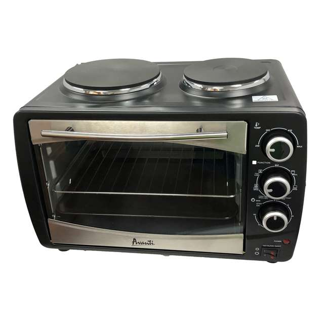 POBW111B-IS Avanti Multi-Function Dual Burner Convection Bake Broil Oven