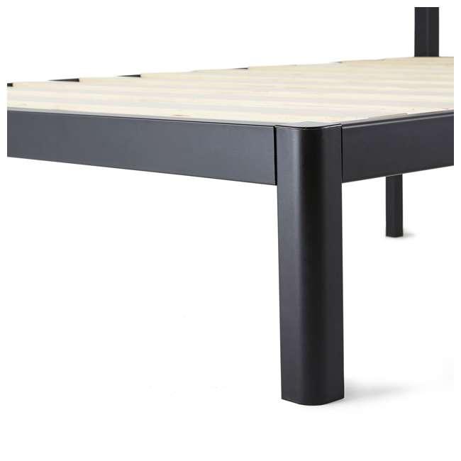 IBS_WSBFHB-F-U-A intelliBASE Full Wooden Slat Platform Bed Frame with Headboard (Open Box) 2