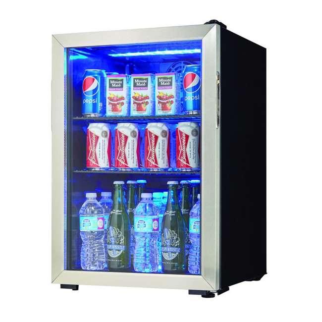 DBC026A1BSSDB Danby 95-Can Beverage Center Mini Fridge Refrigerator