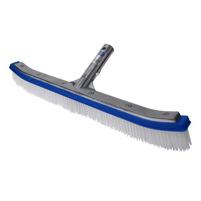 B3525 + B3012 + B3518 Blue Devil Corner and Step Brush, Deck and Acid Brush, and Wall Cleaning Brush 3