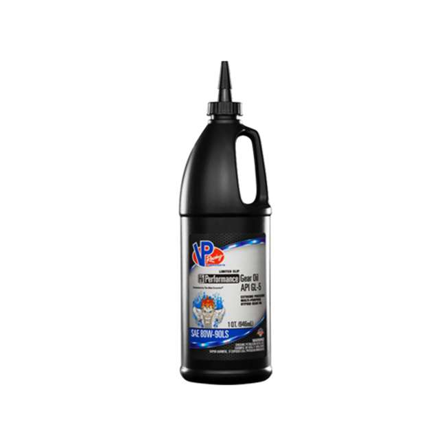 2895 VP Racing Fuels 2895 Hi Performance API GL-5 Gear Oil, Quart Bottle SAE 80W-90LS