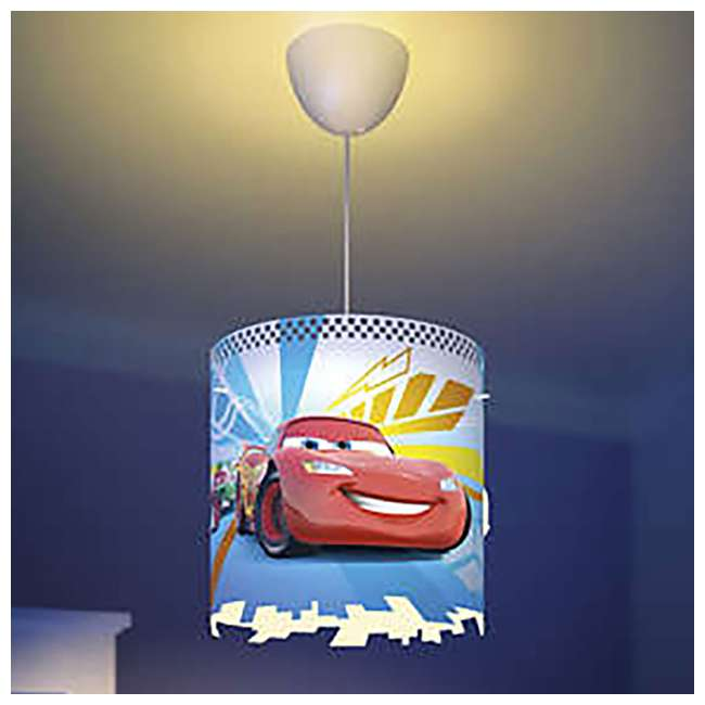 8 x PLC-7175132U0 Philips Disney Pixar Cars McQueen Kids Light Lampshade Only (8 Pack) 5
