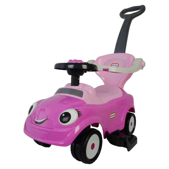 3 in 1 Little Tike - Pink Best Ride On Cars Baby 3 in 1 Little Tikes Push Car Stroller Ride On Toy, Pink