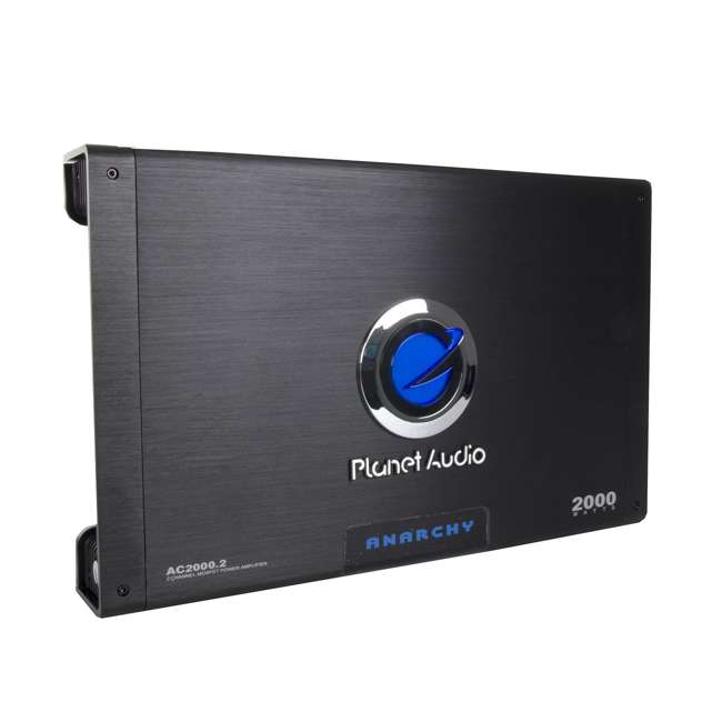 AC20002 Planet Audio AC2000.2 2000W 2-Ch Amplifier + Remote  (2 Pack) 3