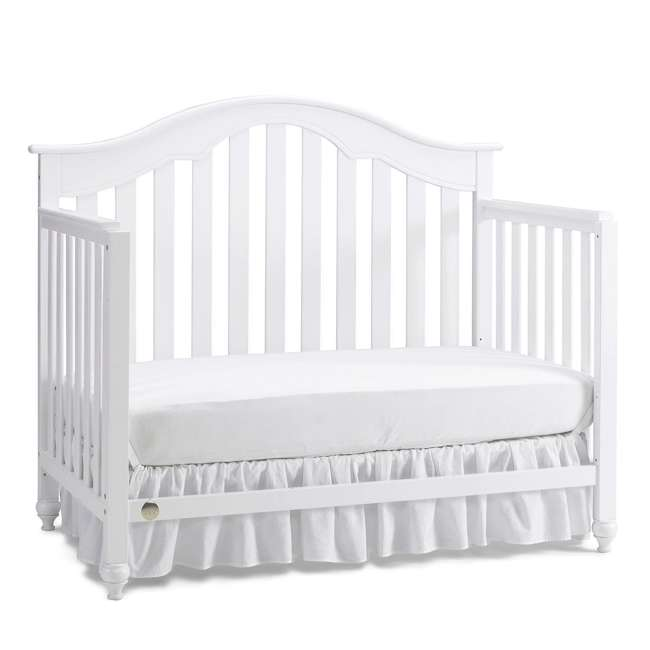 Fisher-Price Kingsport 5-in-1 Convertible Crib, Snow White : 135501-01