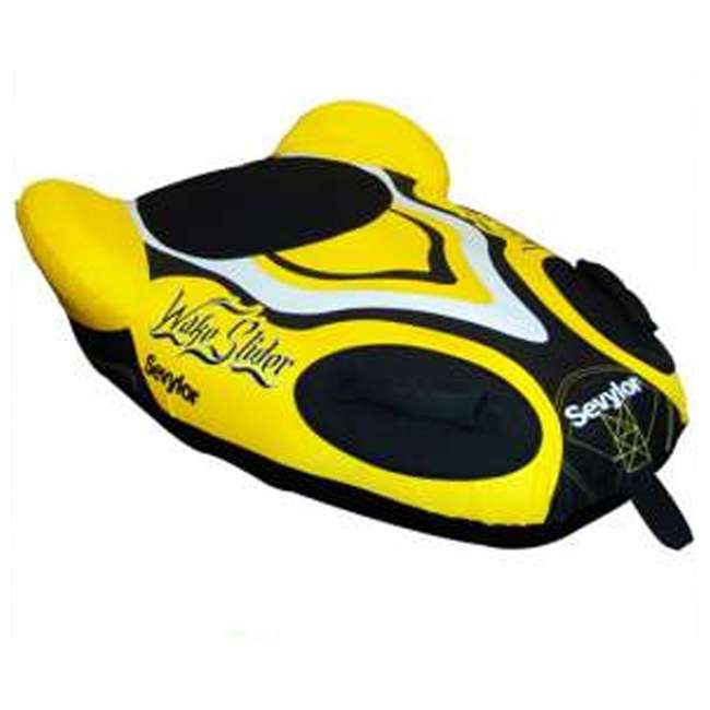 4 x U336YEL-00-000 (4) Sevylor 1-Person Towable Steerable Wake Sliders - Yellow 1