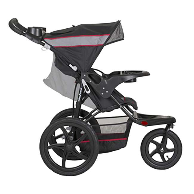 baby trend lightweight single jogger stroller with flex loc infant car seat and base jg99773. Black Bedroom Furniture Sets. Home Design Ideas