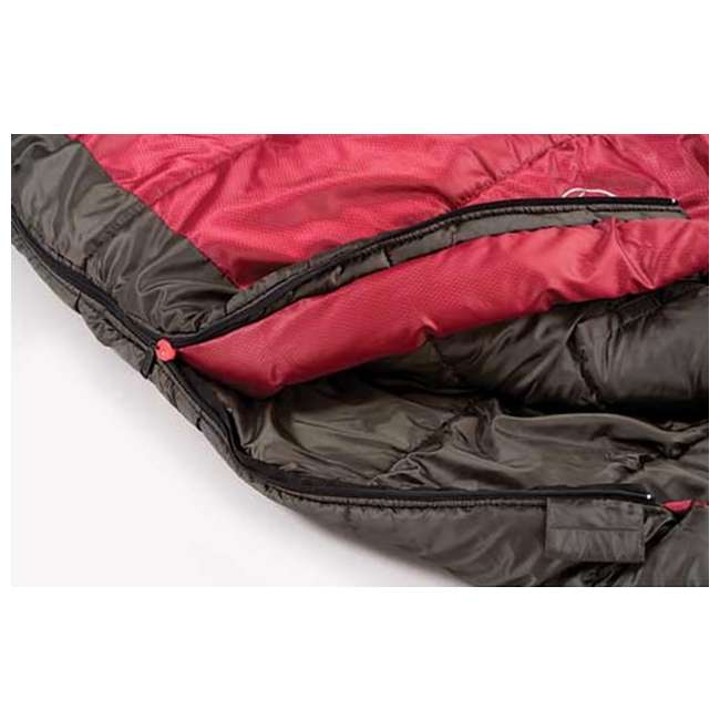 2000000102 Coleman Taos Mummy 25°- 35° Extreme Weather Ventilated Camping Sleeping Bags (Pair) 4