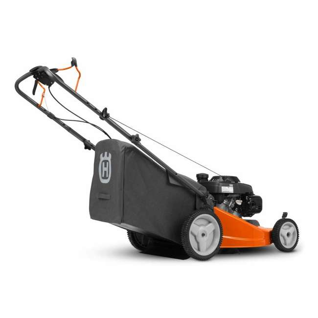 HV-WB-961450036 + HV-TOY-589289601 Husqvarna Walk Behind 21 Inch Self Propelled Gas Mower + Kids Toy Lawn Mower 6