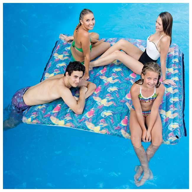 2183216-MW-U-A Margaritaville Heavy Duty Aqua Plank Pool Float with Comfort Top (Open Box) 3
