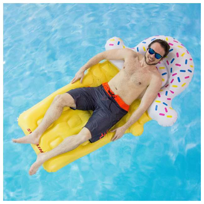 90642 Swimline Ice Cream Pool Float (2 Pack) 2