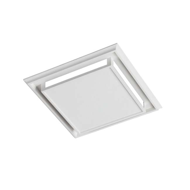 BR-682-U-B Broan Bathroom Ventilation Fan Charcoal Filter and White Plastic-Grille (Used) 1