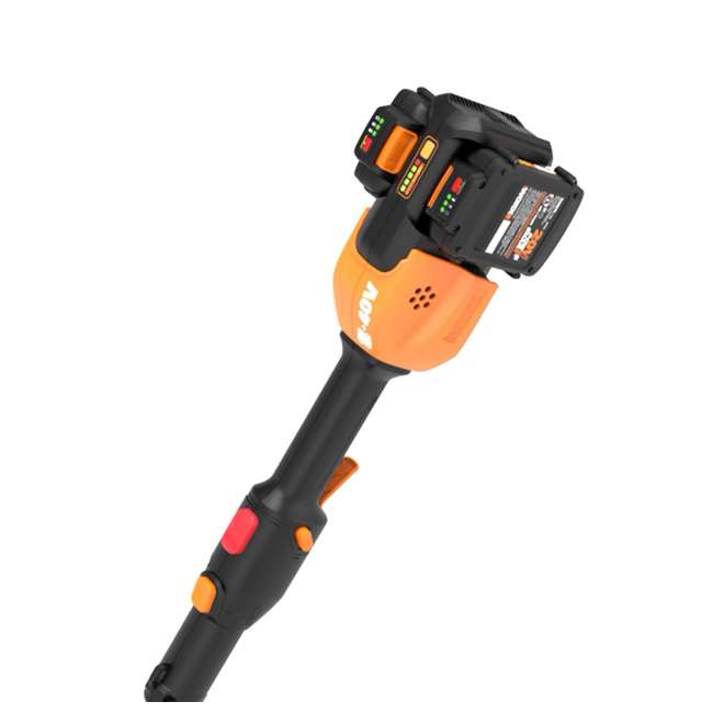 "WG184 WORX WG184 13"" 40V Lithium-Ion Cordless String Trimmer with Batteries & Charger 7"
