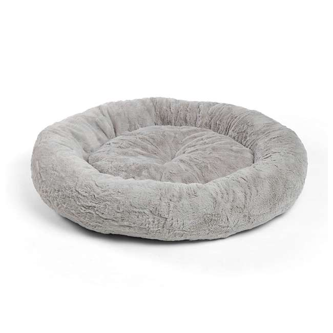 7 x DNT-LUX-GRY-2323 Best Friends by Sheri Orthopedic Donut Dog Bed (7 Pack) 2