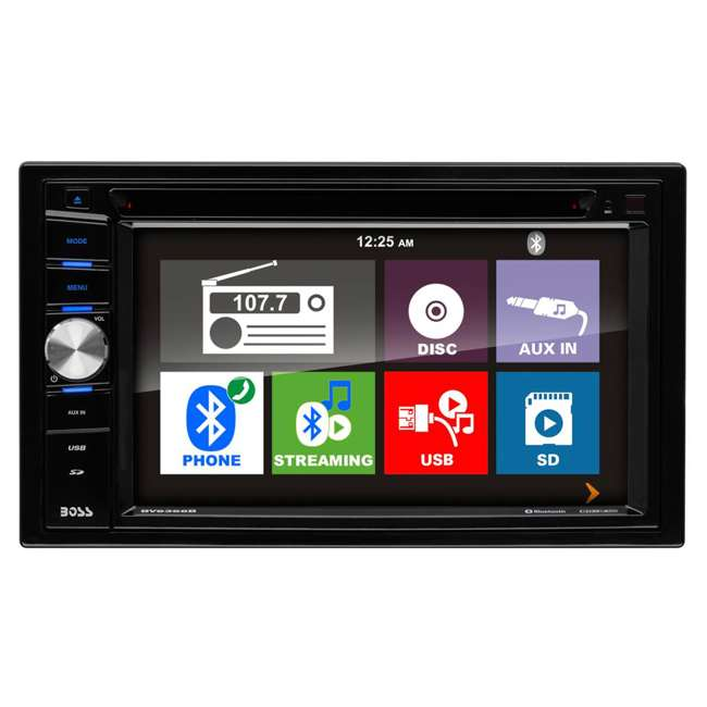 "BV9366B Boss BV9366B 6.2"" 2-DIN In-Dash DVD/MP3 Touchscreen Car Receiver with Bluetooth 1"