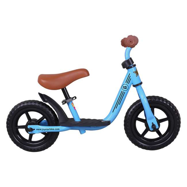 BIKE055bl Joystar Roller 12 Inch Kids Toddler Training Balance Bike Bicycle, Ages 2 to 4 1