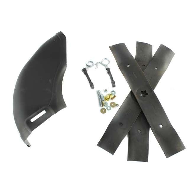 "HV-PA-586117001-U-A Husqvarna 48"" Blade Push Mower Mulching Kit with 54"" Cover (Open Box) (2 Pack)"