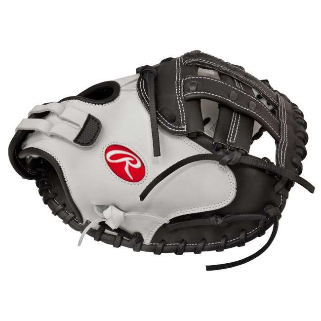 RLACM33-3/0 Rawlings Liberty Advanced 33-Inch Catcher Mitt Adult Softball Glove
