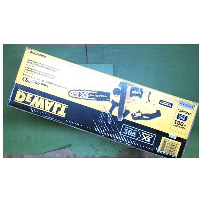 DEWALT-chainsaw-DCCS620B DEWALT 20V MAX Lithium-Ion XR Compact 12 in. Cordless Chainsaw (Tool Only) 4