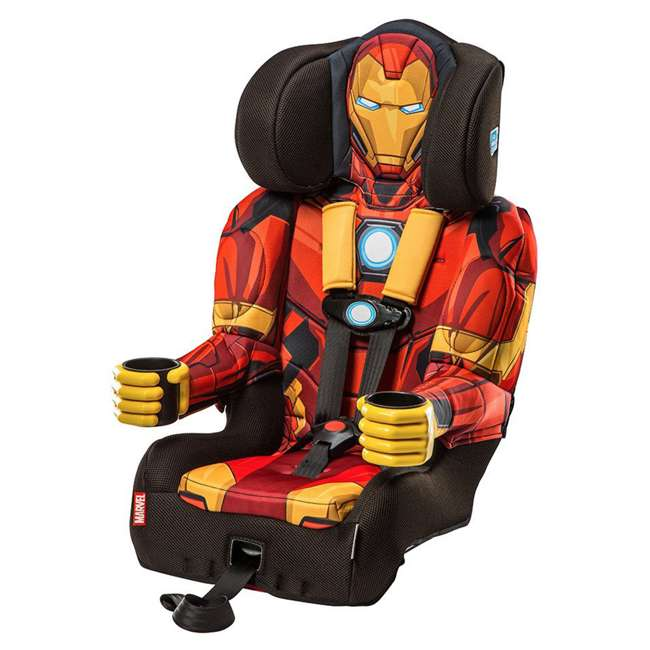 KE-3001RON Kids Embrace Marvel Avengers Iron Man Combination Car Seat