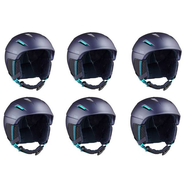Salomon Icon2 C.Air Womens Ski Helmet Medium, Blue (6 Pack)