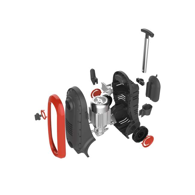 NXG-2200R-U-A Bloom USA 2200 PSI 1.76 GPM 14.5 Amp Electric Pressure Power Washer (Open Box) 4