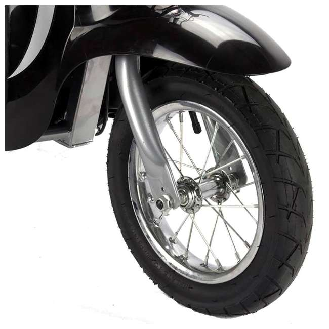 15130601 + 97783 Razor Pocket Mod Miniature Euro 24V 250W Kids Electric Motor Scooter & Helmet 7
