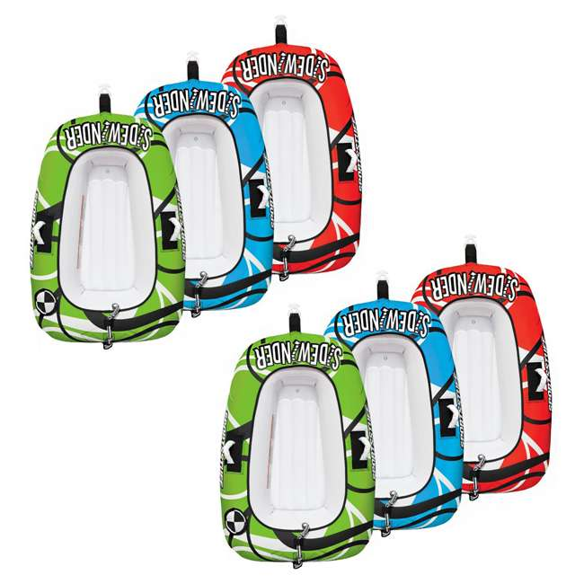 53-4320 Sportsstuff Sidewinder 3 Rider Inflatable Towable Tube (2 Pack)
