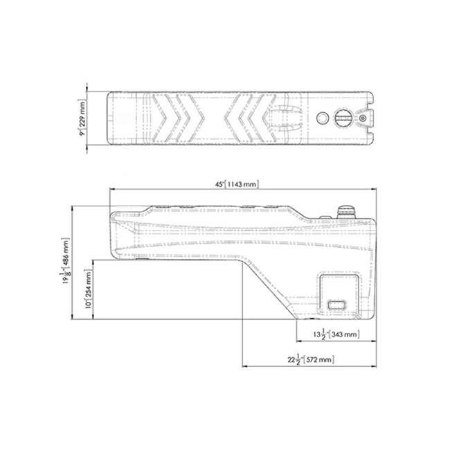 5040015 Titan Sidekick 15-Gallon Portable Liquid Tank for All Trucks 1