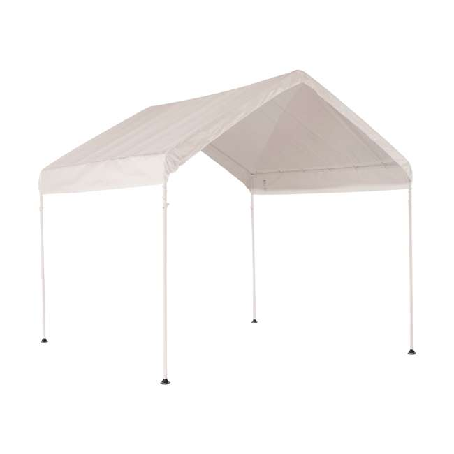 23521 ShelterLogic 10 x 10 Feet Rip Resistant Max AP Canopy with Twist Tie Tension