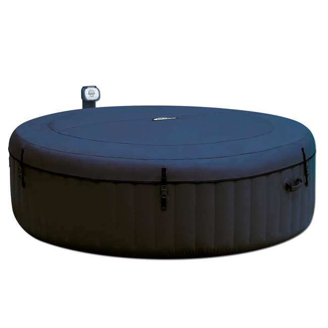 intex pure spa inflatable 6 person bubble hot tub 28409e. Black Bedroom Furniture Sets. Home Design Ideas