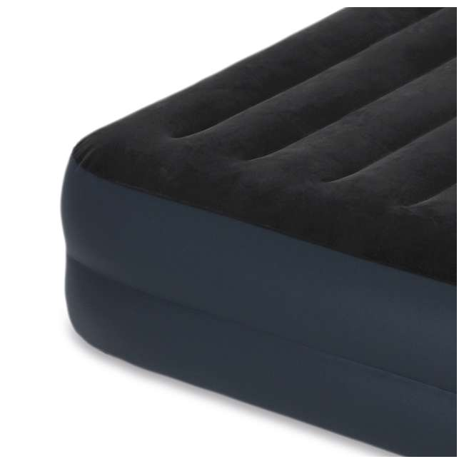 64123E-U-A Dura-Beam Pillow Airbed w/ Fiber-Tech Built-In Pump, Queen (Open Box) (2 Pack) 4
